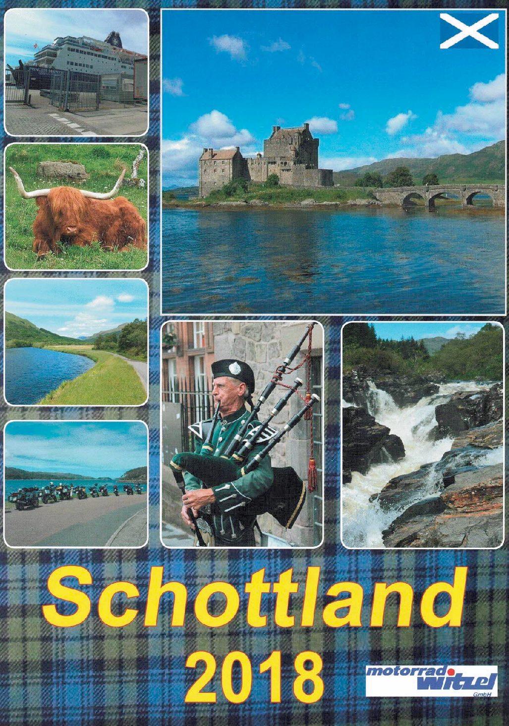 9 Tage Schottland 2018