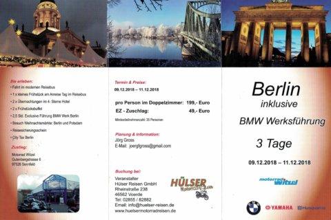 09.12.2018 – Berlin mit BMW Werksführung