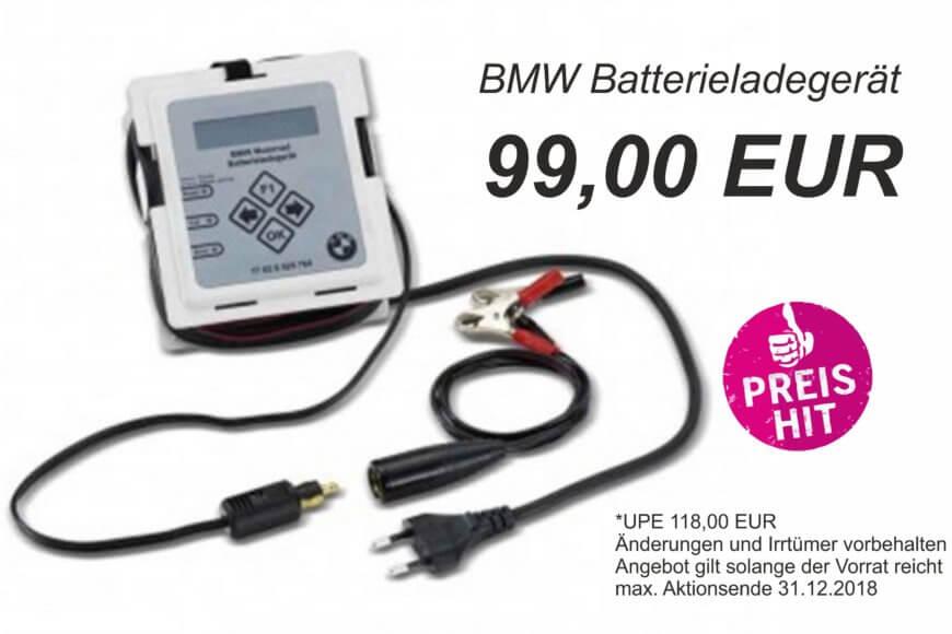 Preishit Batterieladegerät bis 31.12.2018