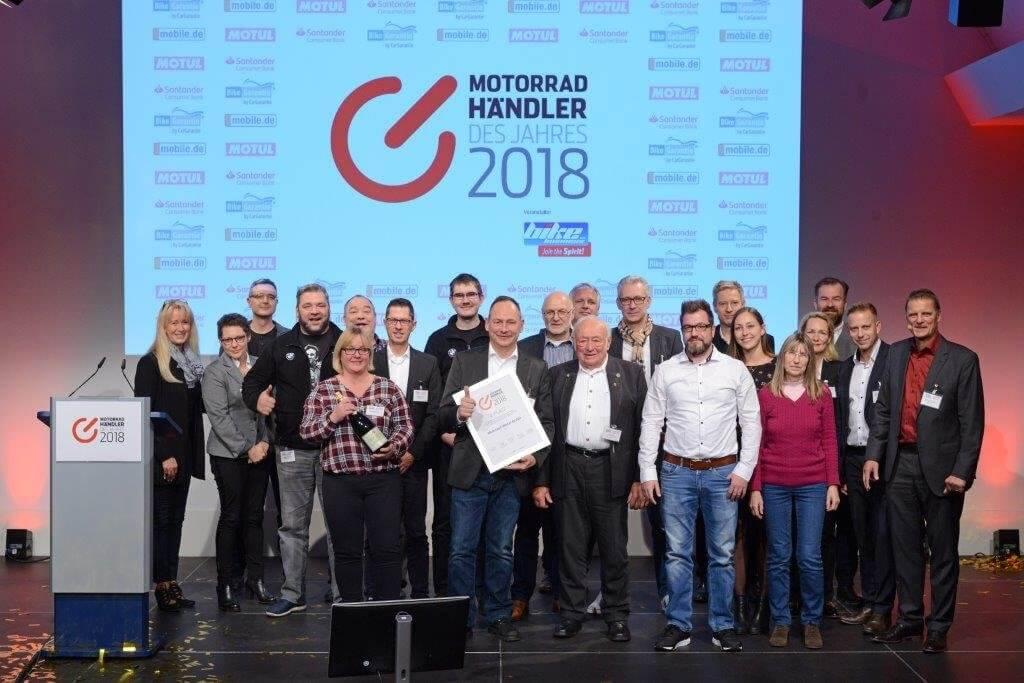 Händler Des Jahres 2018 Motorrad Witzel