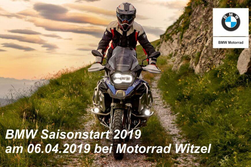 Saisonstart bei Motorrad Witzel am 06.04.2019