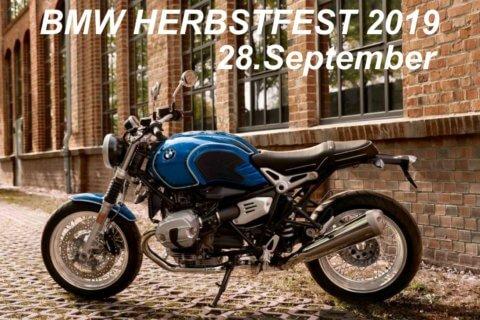 BMW Herbstfest am 28. September