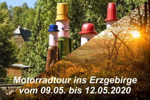 09.05.-12.05.2020 Motorradtour Erzgebirge