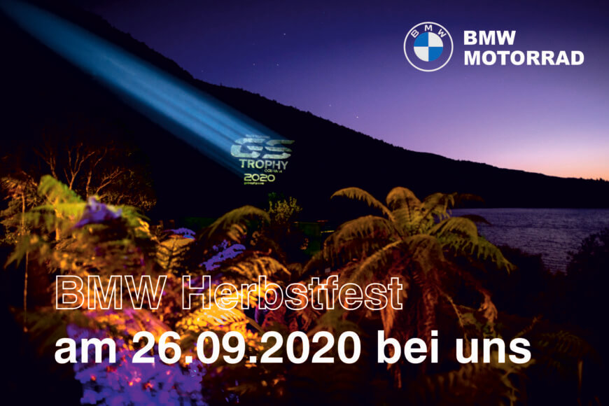 BMW Herbstfest am 26.09.2020 bei Motorrad Witzel