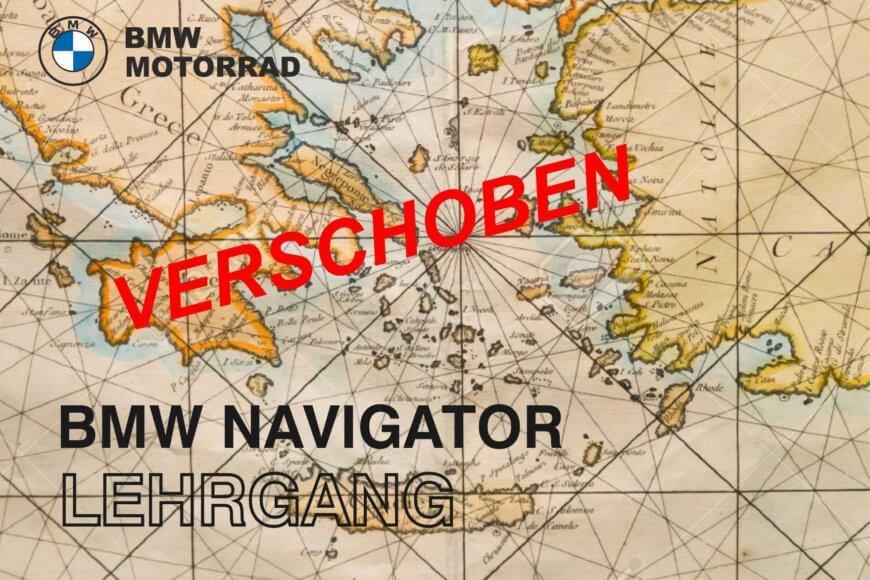 Verschoben: BMW Navigator Kurs bei Motorrad Witzel am 17.10.2020