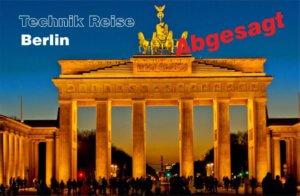 06.12. – 08.12.2020 Technik-Reise Berlin (abgesagt)