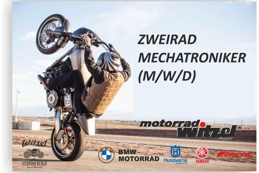 wir suchen einen Zweiradmechatroniker (m/w/d)