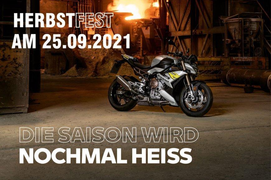 BMW Herbstfest am 25.09.2021 bei Motorrad Witzel