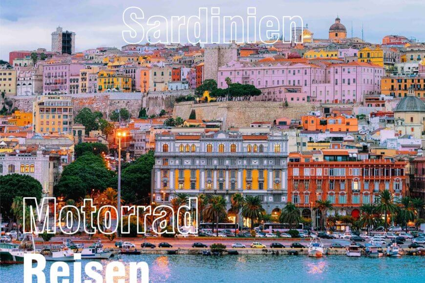 Motorradreisen 2022 – Sardinien